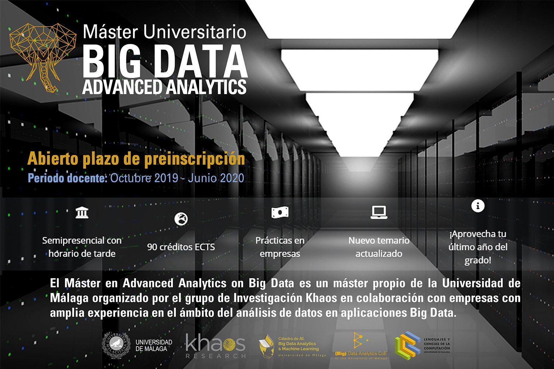 master big data malaga, master big data, big data